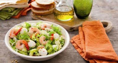 Salade de la mer à la Mozzarella - Galbani