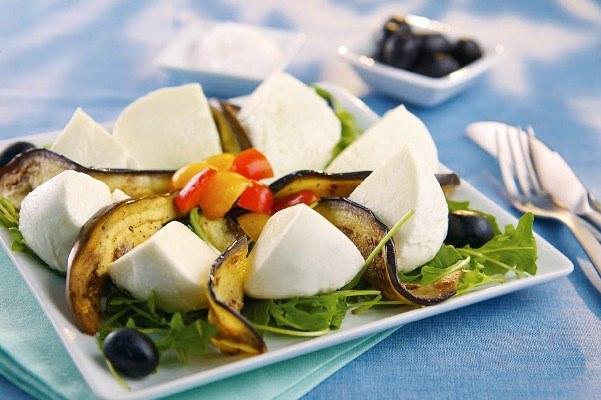 Salade Gran Tradizione aux aubergines grillées - Galbani