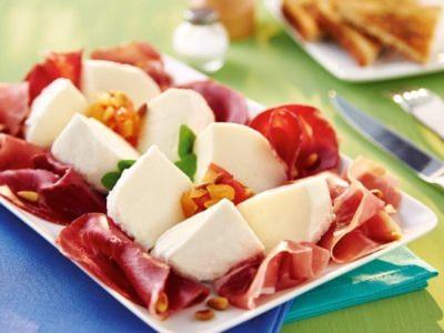 Salade de Gran Tradizione et sa Charcuterie Italienne - Galbani