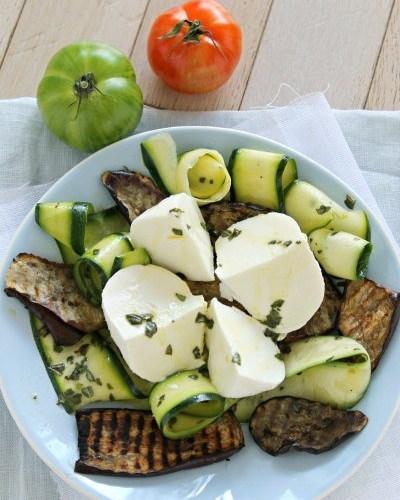 Salade Gran Tradizione aux légumes méditerranéens - Galbani