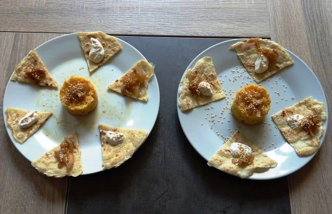 Salade de Lentilles Corail, Sauce au Curry, Miel et Citron - Galbani