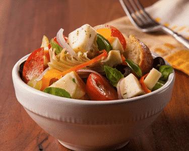 Salade panzanella - Galbani