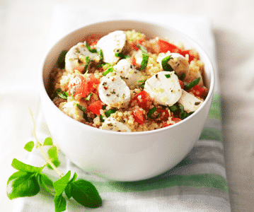 Salade de quinoa à la mozzarella - Galbani