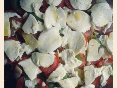 Salade Caprese Tomate Mozza - Galbani