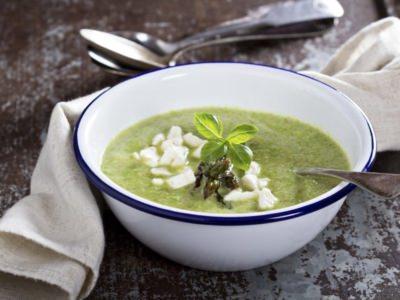 Soupe de courgettes et mozzarella - Galbani