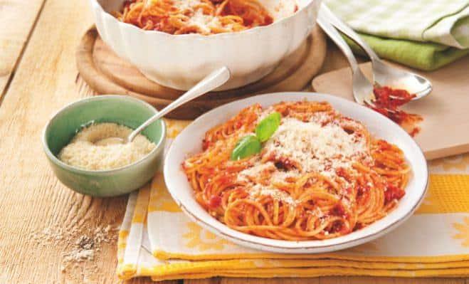 Spaghettis al Pomodori & Grana Padano - Galbani