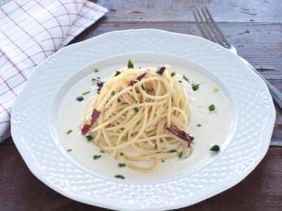 Spaghettis blancs crémeux - Galbani
