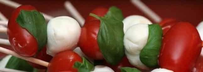 Brochette de Bouchées Mozzarella-Tomates Cerises - Galbani