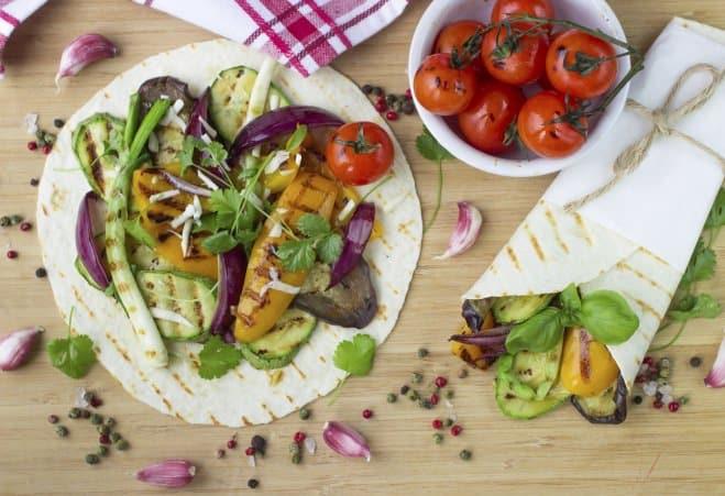 Tacos farcis aux légumes - Galbani