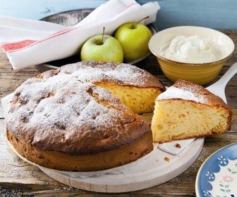Gâteau aux pommes et mascarpone - Galbani