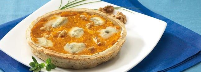 Tartelettes à la Citrouille, aux Noix et au Gorgonzola - Galbani