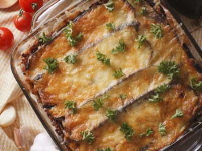 Timbale de zite, mozzarella et tomate - Galbani