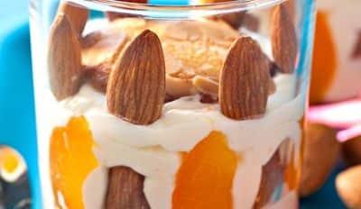 Tiramisu aux abricots et aux amandes - Galbani