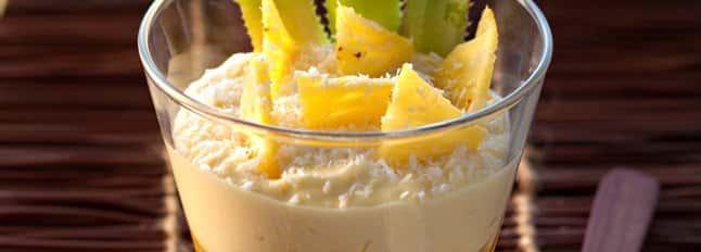 Tiramisù à l'ananas et noix de coco - Galbani