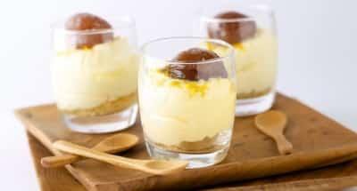 Tiramisu aux marrons glacés, whisky et clémentines - Galbani