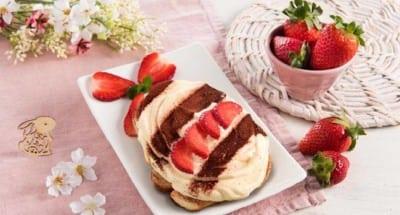 Tiramisù de Pâques aux fraises - Galbani