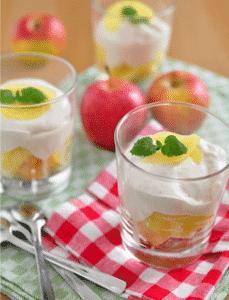 Tiramisu facile et rapide Cannelle et Pommes - Galbani