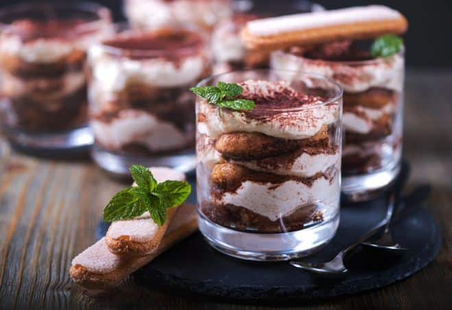 Tiramisu facile et rapide chocolat et menthe - Galbani