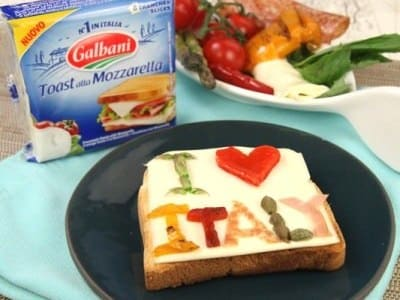 Toast Art I Love Italy - Galbani