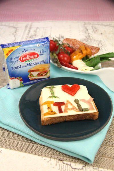 Toast Art I Love Italy - Galbani