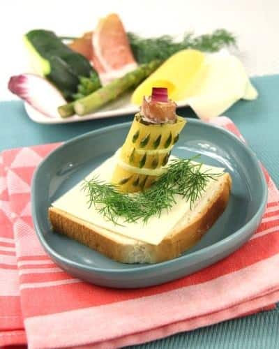 Toast Art Tour de Pise - Galbani