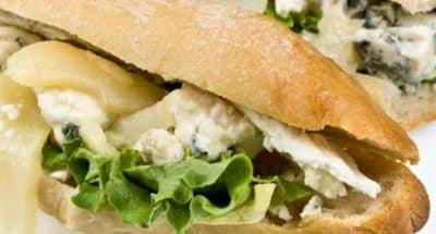 Sandwich au fromage et aux poires - Galbani