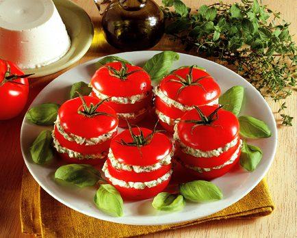 Tomates Farcies à la Ricotta - Galbani
