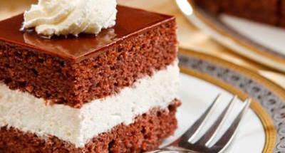 Gâteau au chocolat farci au mascarpone - Galbani