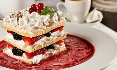 Gâteau aux fruits des bois - Galbani