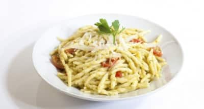 Trofies aux courgettes et Mozzarella - Galbani