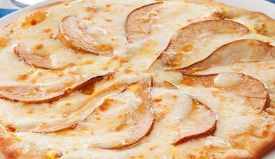 Pizza blanche poire et Ricotta - Galbani