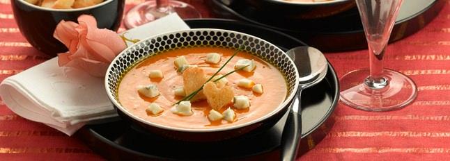 Crème de potiron et Gorgonzola - Galbani