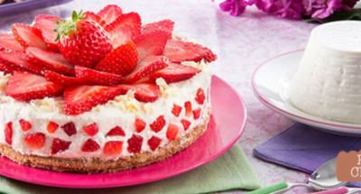 Cheesecake aux Fraises - Galbani