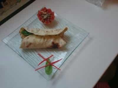 Wrap au poulet et à la sauce Ricotta curry - Galbani