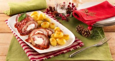 Rôti De Fête Farci A La Mozzarella - Galbani