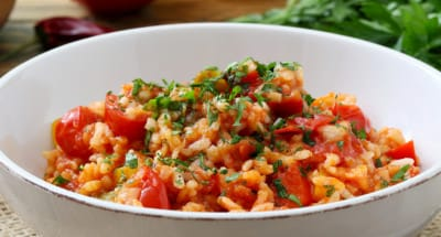 Risotto aux tomates - Galbani