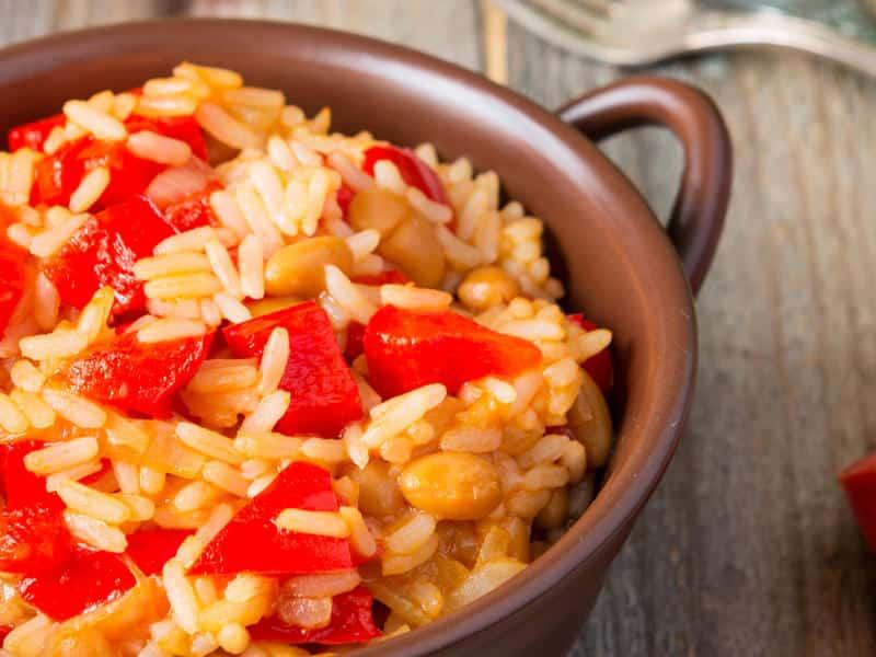 Risotto poivrons jaunes et tomates - Galbani