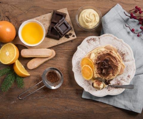 Tiramisu à l'orange et chocolat noir - Galbani