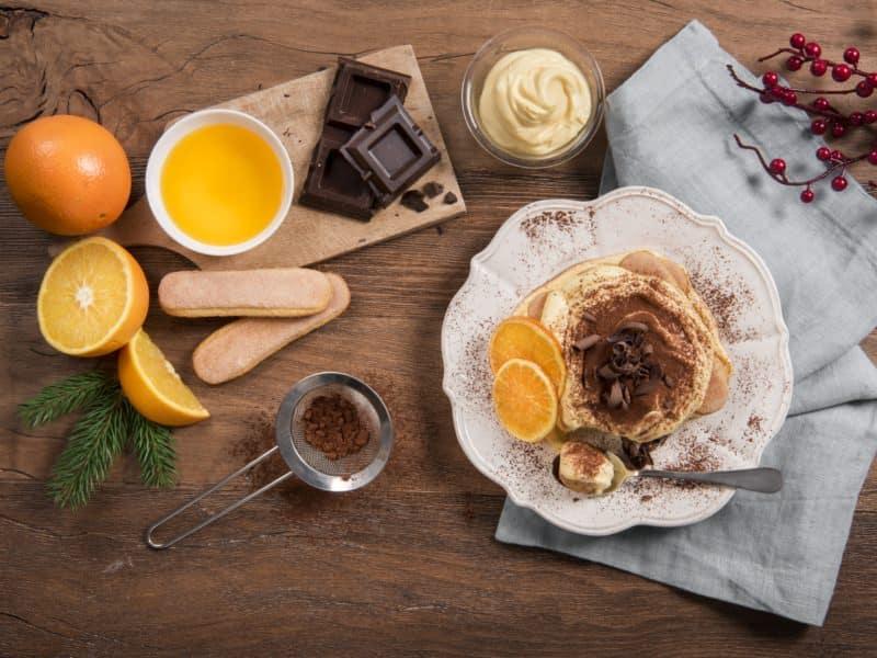Tiramisù à l'orange et au chocolat noir - Galbani
