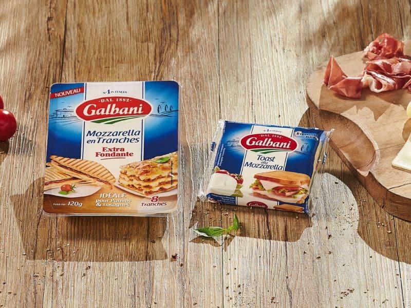 Toast alla Mozzarella Galbani - Galbani