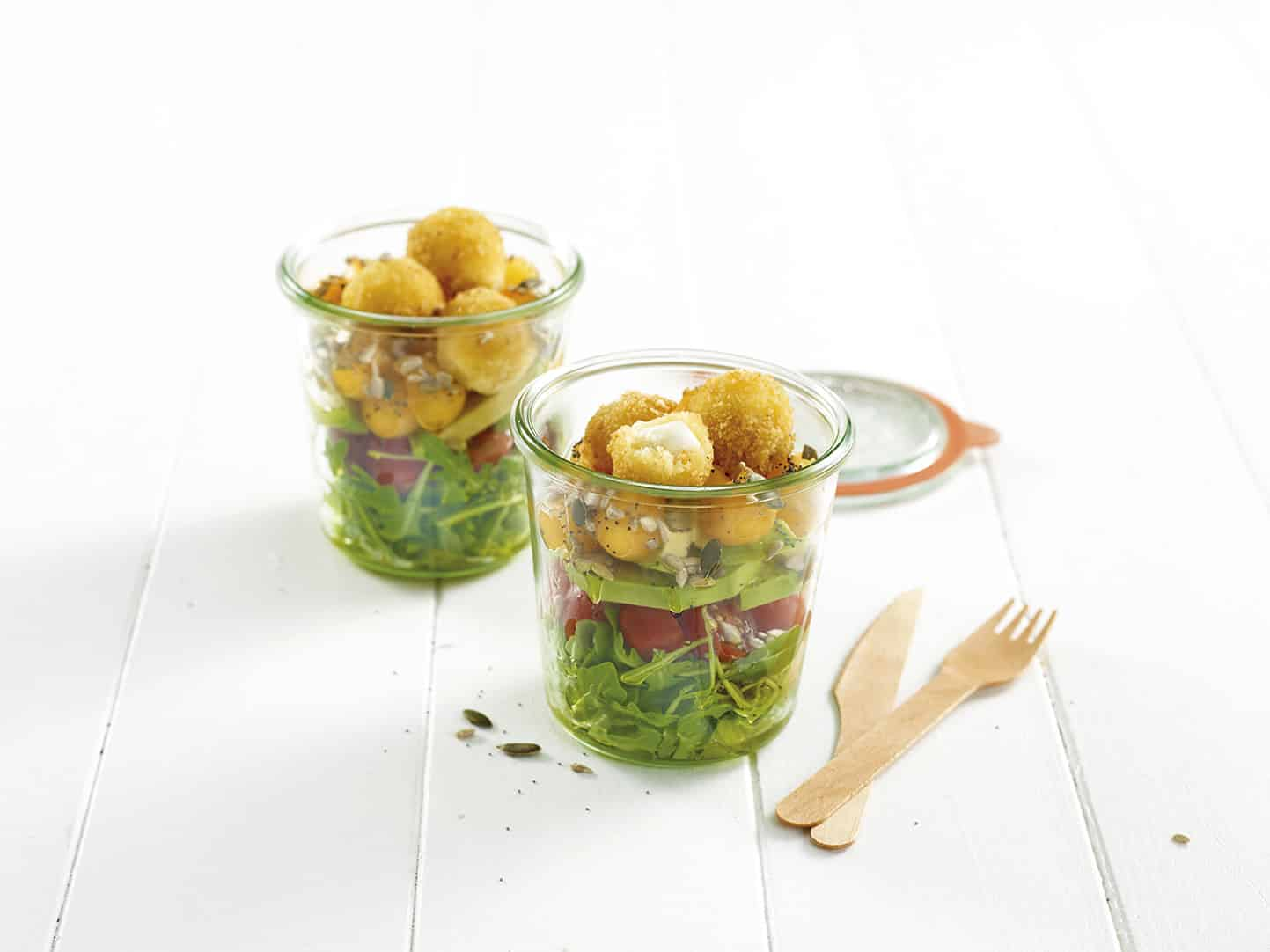 recette salade de mozzarella pan e salades galbani. Black Bedroom Furniture Sets. Home Design Ideas