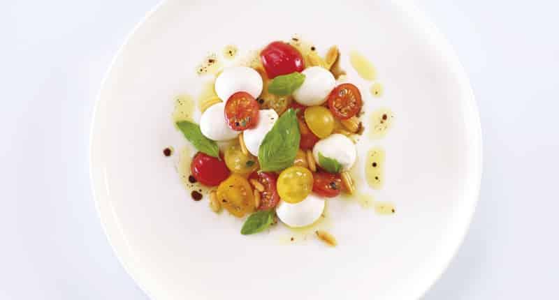 Salade aux tomates cerises et Mini Mozzarella - Galbani