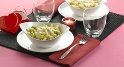 Pâtes crémeuses au Gorgonzola et au chou - Galbani