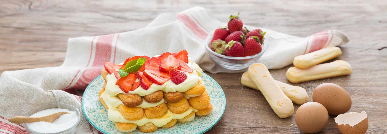 Tiramisù express aux fraises - Galbani