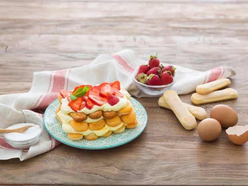 Tiramisù aux fraises  - Galbani