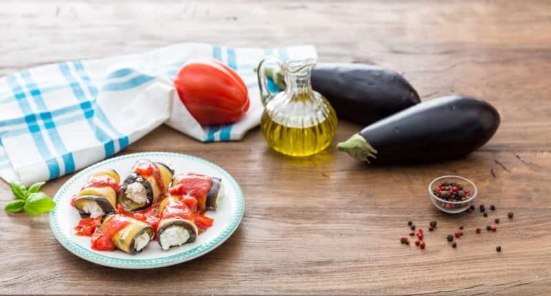 Roulés d'aubergines farcies à la Ricotta pour 4 personnes - Galbani