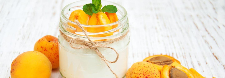 Abricots à la crème de ricotta