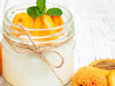 Abricots à la crème de ricotta - Galbani