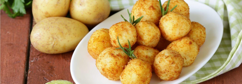 Billes de pommes de terre
