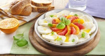 Salade Mozzarella aux agrumes - Galbani